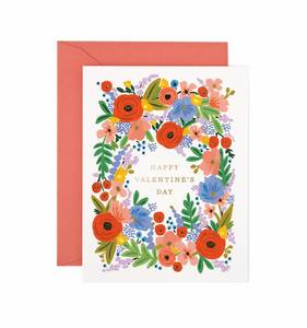 [Rifle Paper Co.] Valentine's Day Bouquet Card