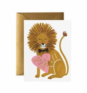 [Rifle Paper Co.] You're My Mane Squeeze Card
