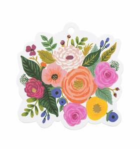 [Rifle Paper Co.] Juliet rose Die-Cut Gift Tag