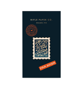 [Rifle Paper Co.] Stamp Enamel Pin
