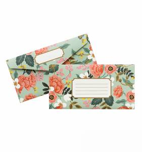 [Rifle Paper Co.] Mint Birch Monarch Envelope Box
