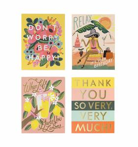 [Rifle Paper Co.] Assorted Happy Card Set