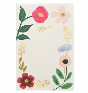 [Rifle Paper Co.] Wildflowers Memo Notepad