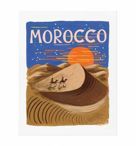 [Rifle Paper Co.] Bon Voyage Morocco 8 x 10