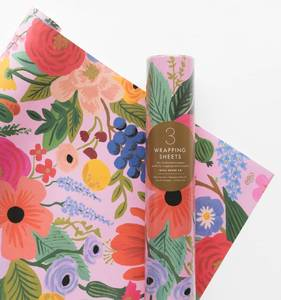 [Rifle Paper Co.] Garden Party Wrapping Sheets [3 sheets]