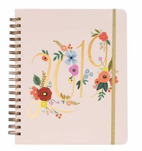 [Rifle Paper Co.] 2019 Bouquet Spiral Bound Planner