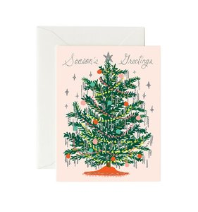 [Rifle Paper Co.] Tinsel Tree Card