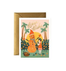 [Rifle Paper Co.] Warm Wishes Snowman Card