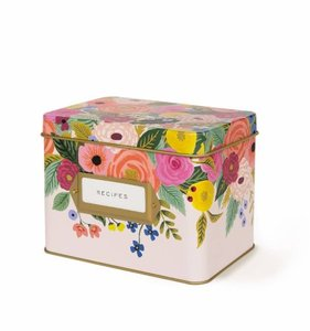 [Rifle Paper Co.] Juliet Rose Recipe Box