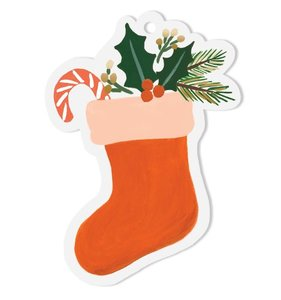 [Rifle Paper Co.] Stocking Die-Cut Gift Tag
