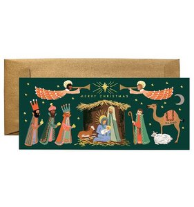 [Rifle Paper Co.] Holiday Nativity No.10 Card