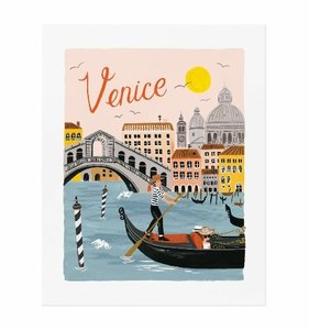 [Rifle Paper Co.] Venice World Traveler Art Print 3 size