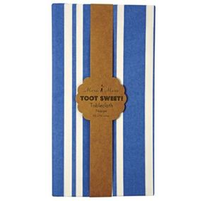 [Meri Meri] Blue Stripe Table Cloth