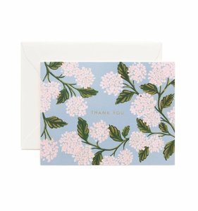 [Rifle Paper Co.] Hydrangea Thank You Card