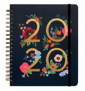 8/12 예약 배송 - [Rifle Paper Co.] 2020 WILD ROSE Spiral Bound Planner