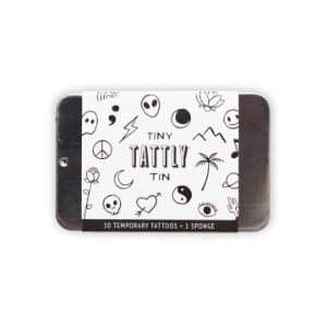 [Tattly] Tiny Flash Art Tin