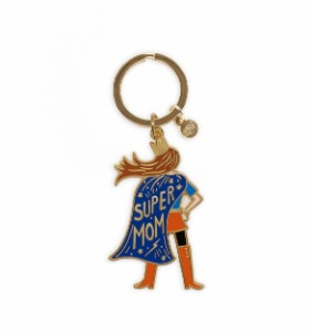 [Rifle Paper Co.] Super Mom Enamel Keychain