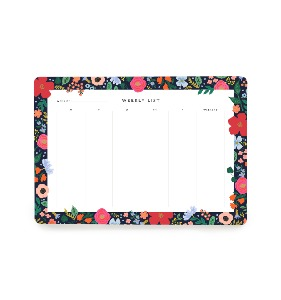 [Rifle Paper Co.] Wild Rose Weekly Desk Pad