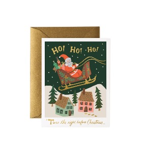 [Rifle Paper Co.] Christmas Delivery Card