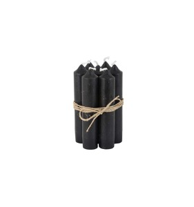 Short Candle Black