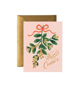 [Rifle Paper Co.] Mistletoe Christmas card