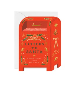 [Rifle Paper Co.] Letters to Santa card