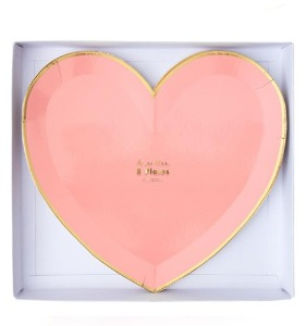 [Meri Meri] Party Palette Heart Large Plates