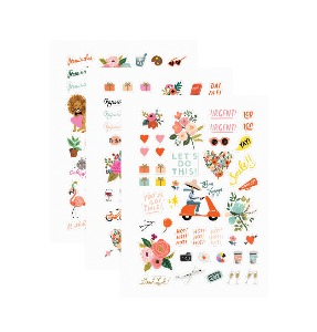 [Rifle Paper Co.] Sticker Sheets [3 Sheets]