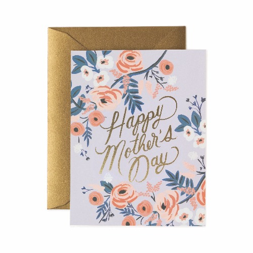 [Rifle Paper Co.] Rosy Mother's Day Card