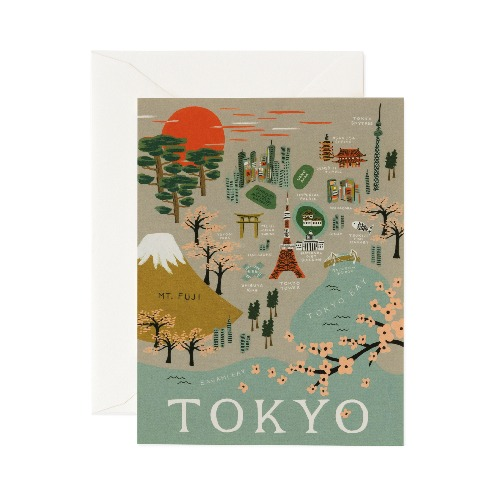[Rifle Paper Co.] Tokyo Card
