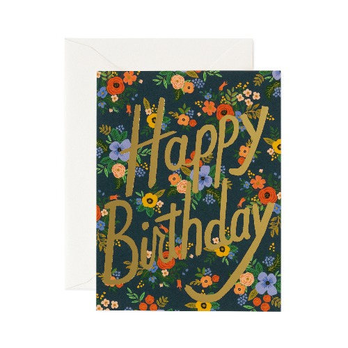 [Rifle Paper Co.] Garden Birthday Card