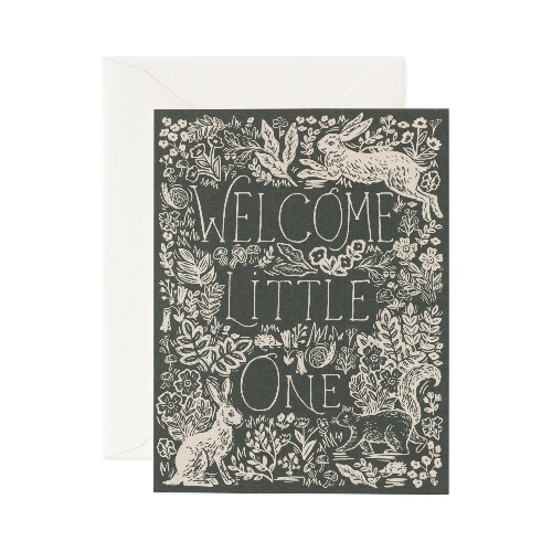 [Rifle Paper Co.] Fable Baby Card