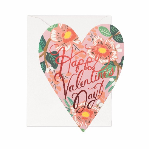 [Rifle Paper Co.] Heart Blossom Valentine Card