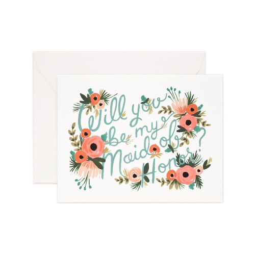 [Rifle Paper Co.] Maid of Honor Card