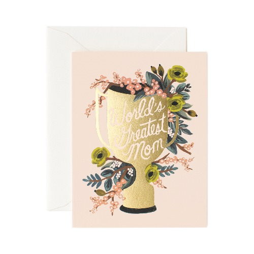 [Rifle Paper Co.] World's Greatest Mom Card