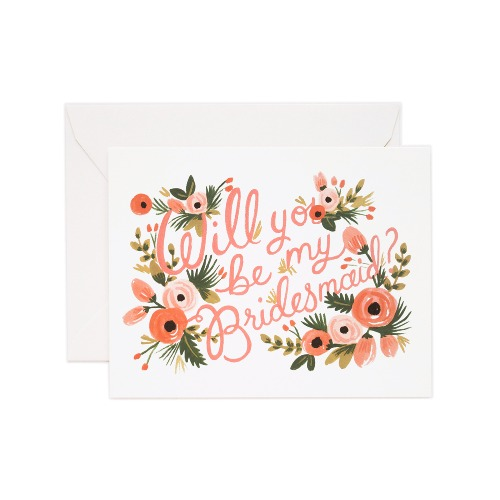 [Rifle Paper Co.] Bridesmaid Card