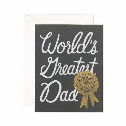 [Rifle Paper Co.] World's Greatest Dad Card