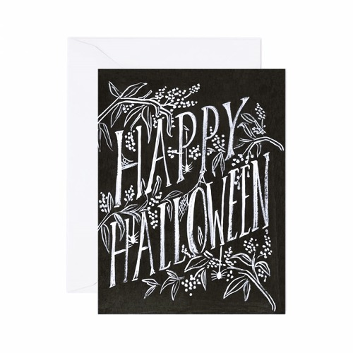 [Rifle Paper Co.] Scratchy Halloween Card