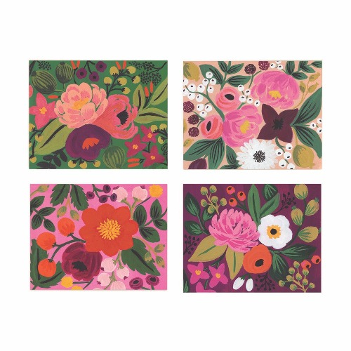 [Rifle Paper Co.] Assorted Vintage Blossoms Card Set