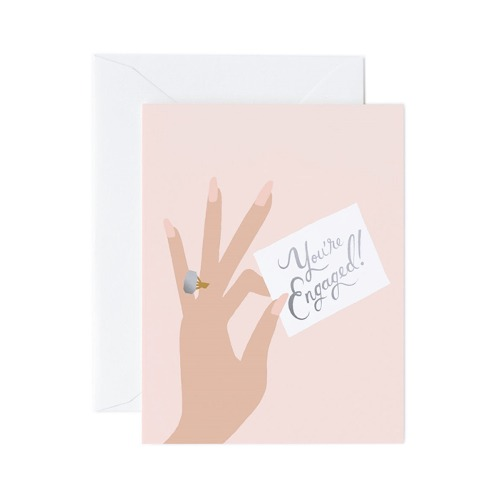 [Rifle Paper Co.] Youre Engaged Card 웨딩 카드