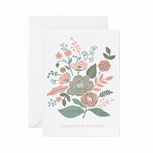 [Rifle Paper Co.] Letterpress Garden Congratulations Card