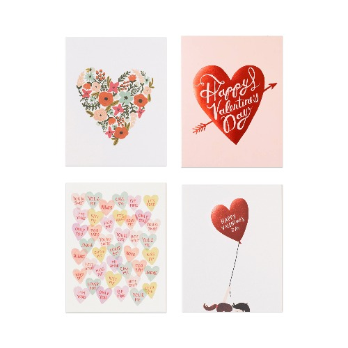 [Rifle Paper Co.] Assorted Valentine's Card Set