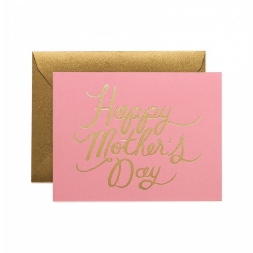 [Rifle Paper Co.] Pretty In Pink Mother's Day Card
