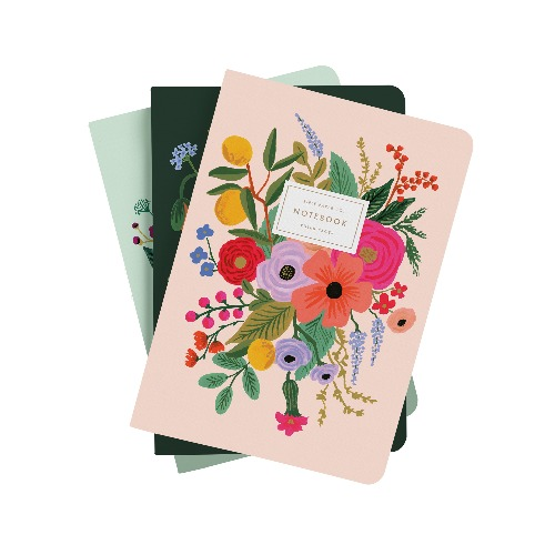 [Rifle Paper Co.] Garden Party Stitched Notebook Set