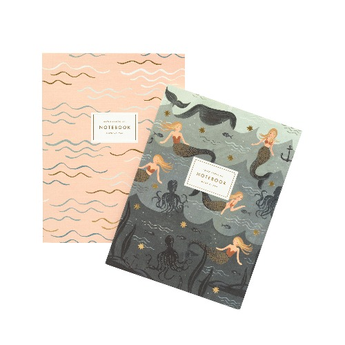 [Rifle Paper Co.] Mermaid Notebook Set