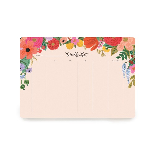 [Rifle Paper Co.] Garden Party Weekly Desk Pad