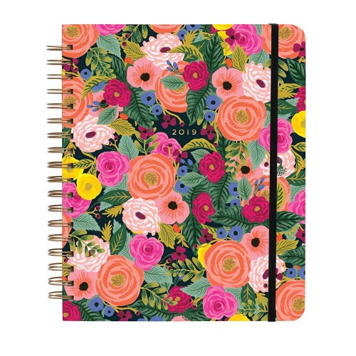 [Rifle Paper Co.] 2019 Juliet Rose Spiral Bound Planner