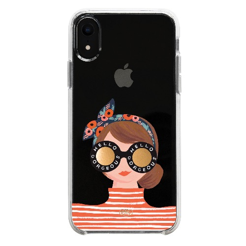 [Rifle Paper Co.] Hello Gorgeous iPhone Case (iPhone X/XS, XS MAX, XR)