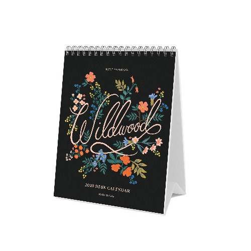 [Rifle Paper Co.] 2020 Wildwood Desk Calendar