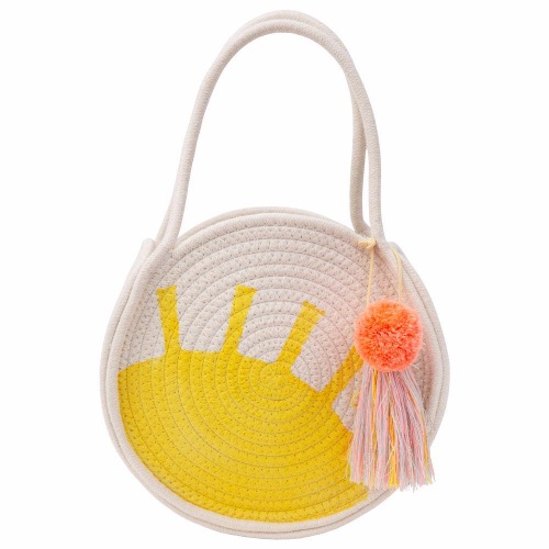 [Meri Meri] Sun Woven Cotton Rope Bag